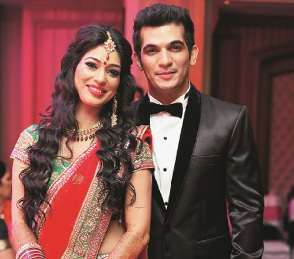 TV celebrity Arjun Bijlani and Neha Swamy are blessed with a son in January 2015.