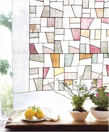 모시 조각보 korean patchwork