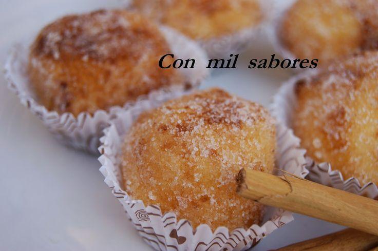 Os prometí una receta dulce para el lunes y aquí está!!!, ¿cómo? ¿que hoy no es lunes?, pues para mi sí . Ayer fue el día de mi Santo...