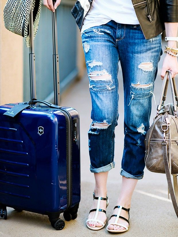 How to Pack Two Weeks' Worth of Winter Clothes in One Suitcase Like this.