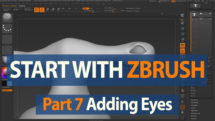 This video we show you how to append a new mesh to your ZBrush scene for eyes. Try ZBrush now for 45 days: https://pixologic.com/zbrush/trial/ Visit our ZCla...