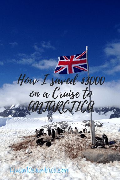 Creative tips and strategies that are essential for snagging a cheap Antarctica cruise. Even a budget trip to Antarctica, the 7th continent of the world is routinely $10-12000, and even the cheapest group trip I found was close to $8000, but I love to travel cheaply. Here are the tips and tricks that helped me book a trip to see penguins, glaciers, and camp overnight on Antarctica for only $5800.
