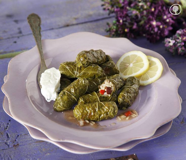 Thursday's Recipe: Stuffed vine leaves with olives, peppers and spice.  Are you fond of spicy flavors? Try a unique way of making stuffed vine leaves (dolmadakia), a classic appetizer of the Greek cuisine, that offers a spicy taste! Enjoy!  #yolenistaste #thursdaysrecipe