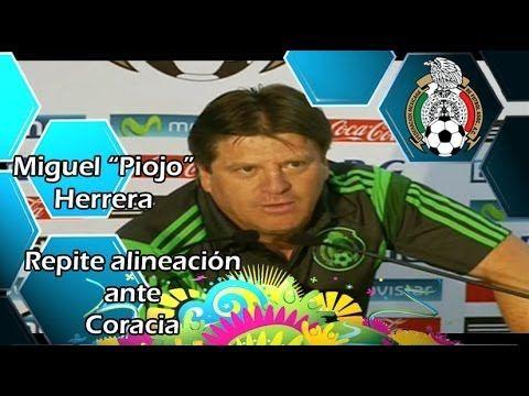 """Miguel """"Piojo"""" Herrera - Repetirá la alineación ante Croacia  #HoyChihuahua #CUU  #Chihuahua  #Periodismo  #Journalism  #Multimedia   #WorldCup #CopaDelMundo #Mundial  #Soccer   #Futbol  #Brasil2014  #TRI  #Selección  #México   #MX  #Piojo  #Herrera"""