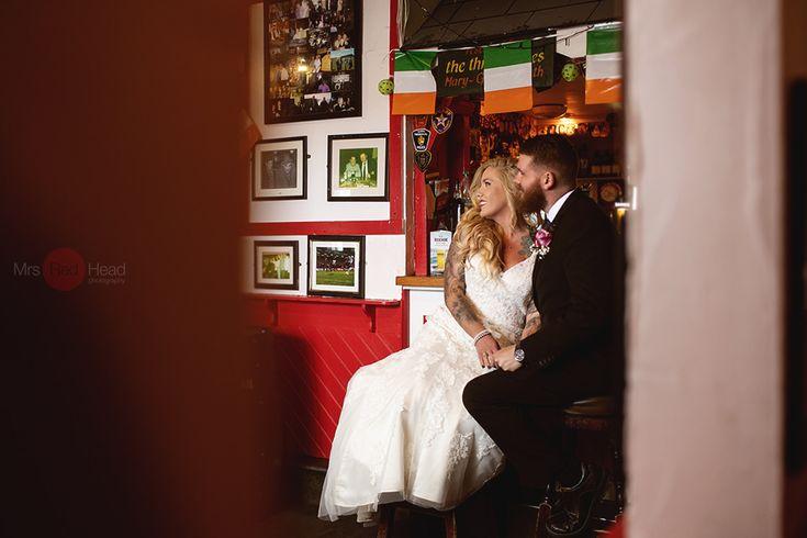 Mrsredhead wedding photography Ireland, elope in Ireland, wedding in Ireland, Bride and groom, Irish wedding photographer , Irish pub,