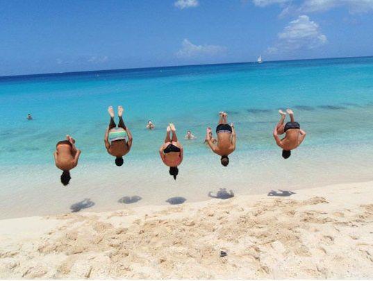 Le foto divertenti sulla spiaggia