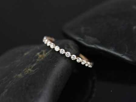 by far one of my favs of all time. Rosados Box Petite Bubble & Breathe Rose Gold Diamond Almost Eternity Band