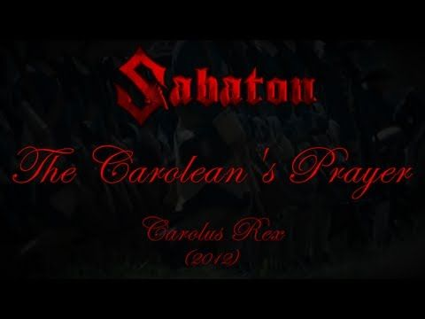 Sabaton - The Carolean's Prayer  In the name of Christ their enemies chastise. (God is on my side not yours)