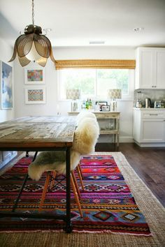 okissia: alfombras de piel de oveja, decoración y como lavarla.
