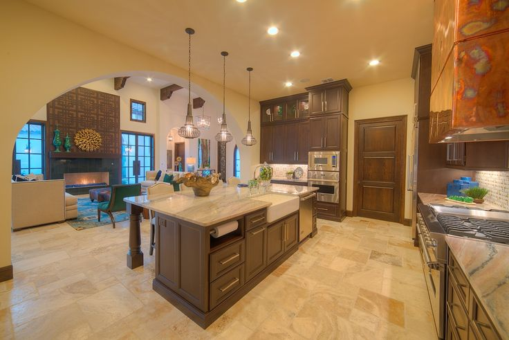 This Sitterle custom home in Texas is built for those who love entertaining and cooking.