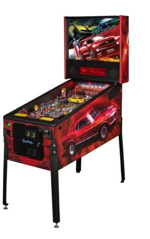 Ford and Stern Pinball Partner to Offer Ford Mustang Pinball Machine: Ford says that Stern Pinball is one of many companies producing officially licensed products to celebrate 50 years of Mustang.