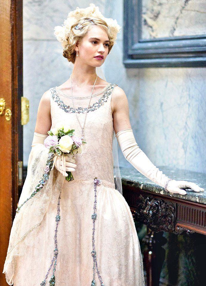 lady rose downton abbey fashion tv pinterest
