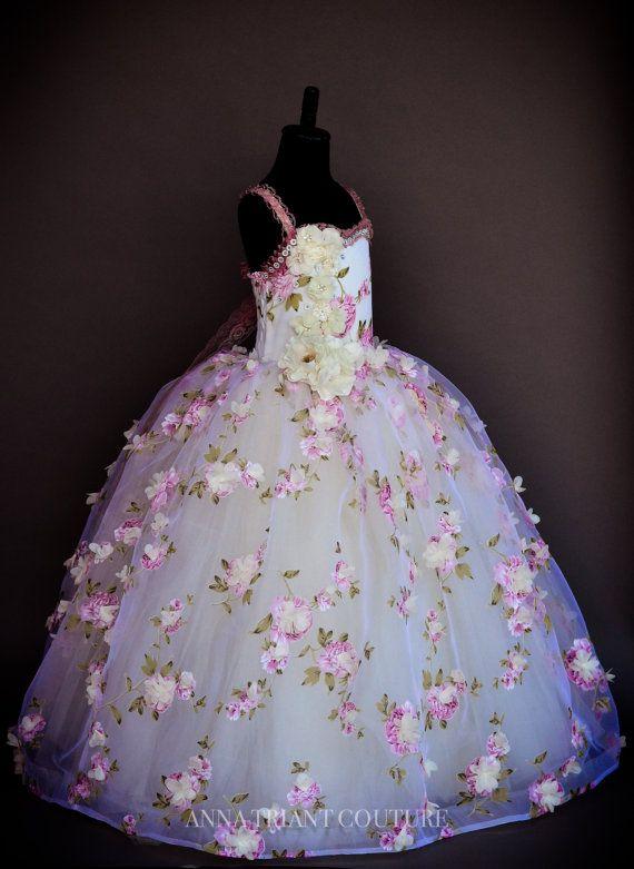 Camellia dress by FabTutus / Anna Triant by AnnaTriantCouture