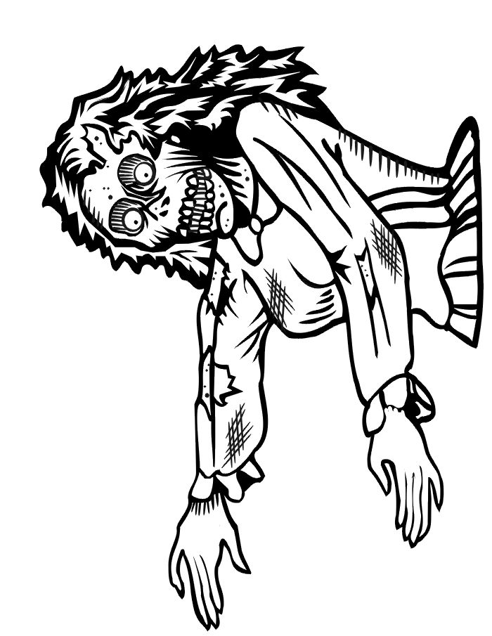 82 best images about Zombie coloring on Pinterest ...