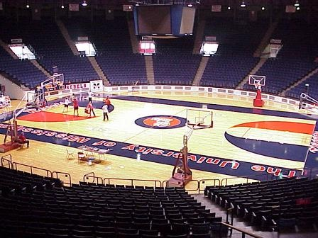 Tad Smith Coliseum, Ole Miss basketball, Oxford, MS