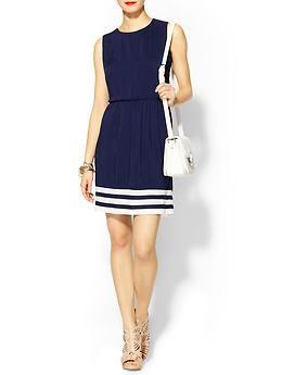 Border Stripe Dress