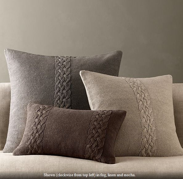 knit pillow covers Types of cushion's finishing #scatter #cushions #interiordesign                                                                                                                                                                                 More