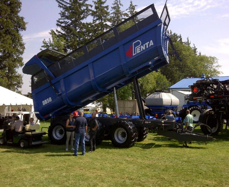 Penta Exhibiting Wagons at Canada's Outdoor Farm Show