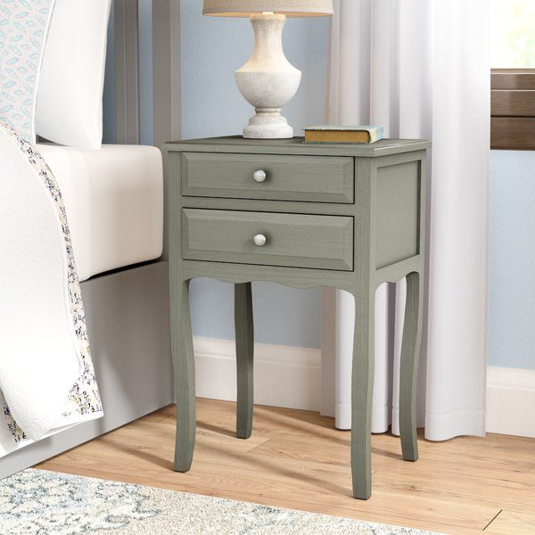 Joanna 2 Drawer Nightstand Nightstand Furniture 2 Drawer