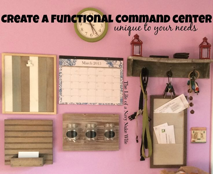 how to build a command center