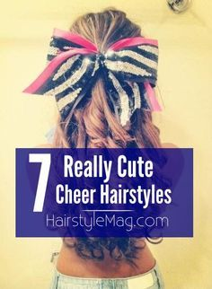Cheerleader Hairstyles 6 creative cheerleading hairstyles 7 Really Cute Cheerleader Hairstyle Ideas For Your Next Game Pep Rally Or Competition