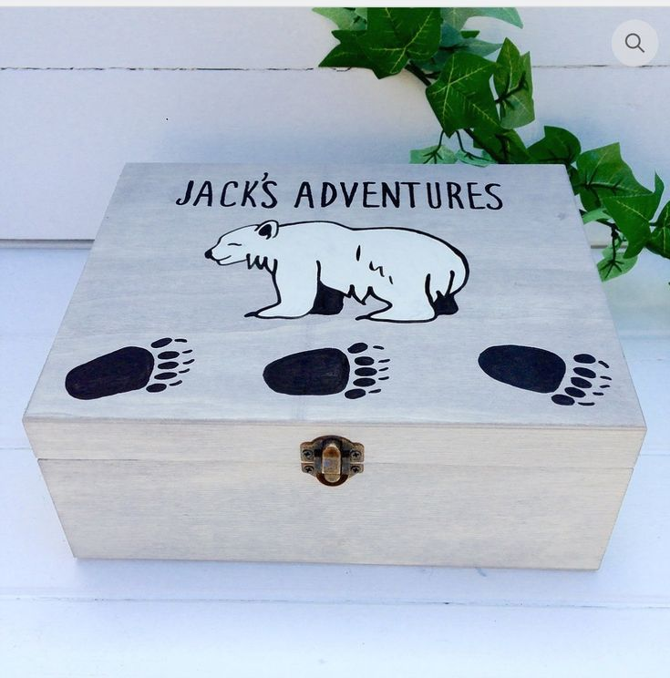 Personalised Bear Wooden Keepsake Box  This gorgeous little cub design keepsake box is perfect for storing your 'little cub's' keepsakes! Perfect for a new baby, Christening or any child's gifting occasion. Unisex styling so perfect for boy or girl.