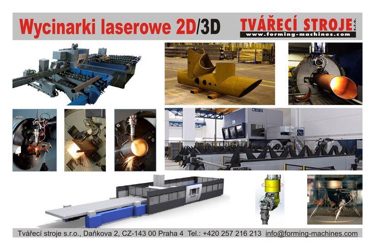 Wycinarki laserowe 2D/3D Laserové řezací stroje 2D/3D