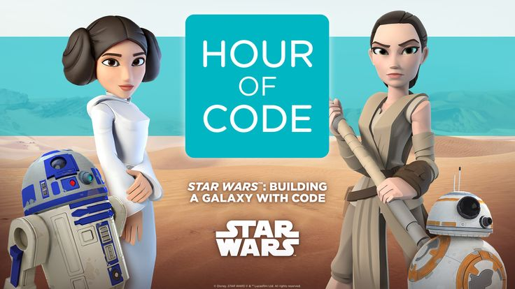Hour of Code Tutorial: Star Wars: Building a Galaxy with Code. ~ Learn to program droids, and create your own Star Wars game in a galaxy far, far away.