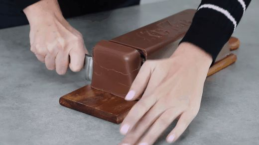 An oversize Chunky Caramel Kit Kat cake. | 29 Ways To Make Giant Versions Of Your Favorite Foods