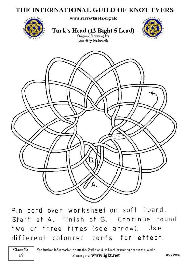 :: knot :: | 005 REM continuous | Pinterest | Knots