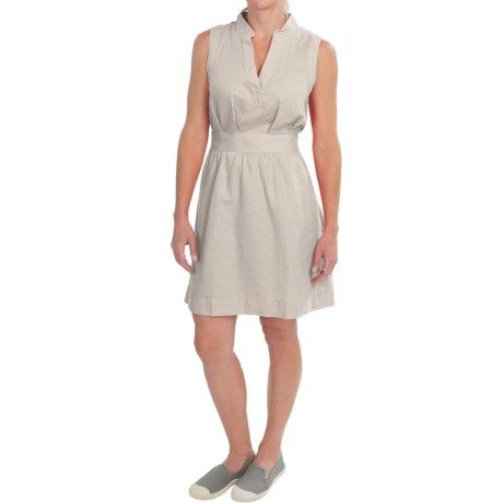 Columbia Sportswear Sunshine Bound Dress - Linen-Cotton, Sleeveless (For Women))