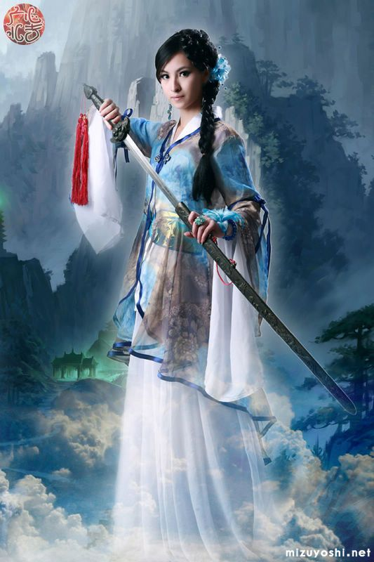 Wuxia Edge, A cosplay of Water Margin game.
