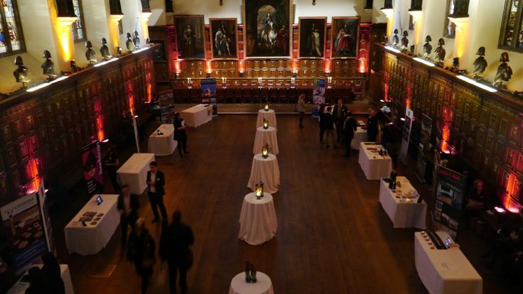 The Hall is very flexible and looks stunning set-up for exhibitions