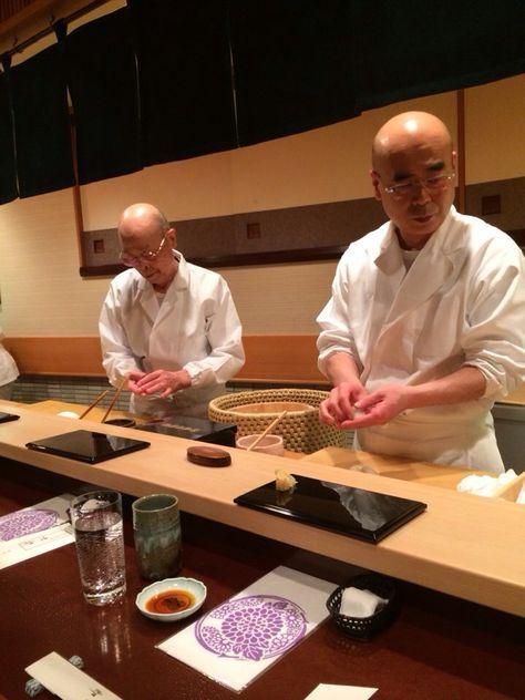 """I'm going to eat sushi at Sukiyabashi Jiro (Ginza) (most famous sushi bar in Tokyo - """"Jiro Dreams of Sushi"""")."""