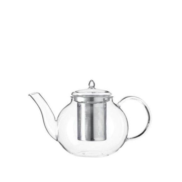 """Mit dieser Teekanne """"Limito"""" von LEONARDO versüßen Sie sich die kalte und stürmische Jahreszeit. Kuscheln Sie sich an einem windigen Regentag auf Ihr gemütliches Sofa und gönnen Sie sich ein paar Tässchen Tee. Egal, ob eine würzige Kräuterteemischung, Sanddorn- oder Kamillentee - die heiße Flüssigkeit wirkt entspannend und wärmt Sie von innen. In die transparente Kanne passen ca.<b> 0,7 Liter</b> des Warmgetränkes. In das integrierte <b>Sieb</b> können Sie die frischen oder getrockneten…"""