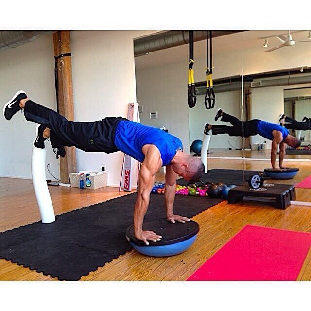 Bosu Ball Burpee Jump: 477 Best Exercise With BOSU Images On Pinterest