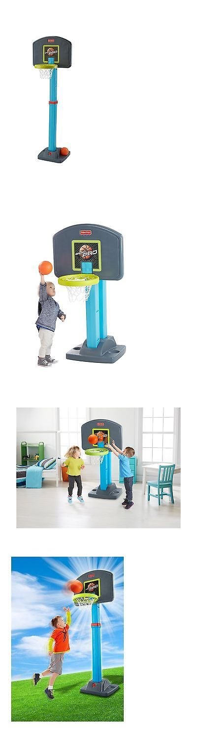 Other Outdoor Toys Structures 11742: Fisher-Price Grow-To-Pro Basketball -> BUY IT NOW ONLY: $42.36 on eBay!