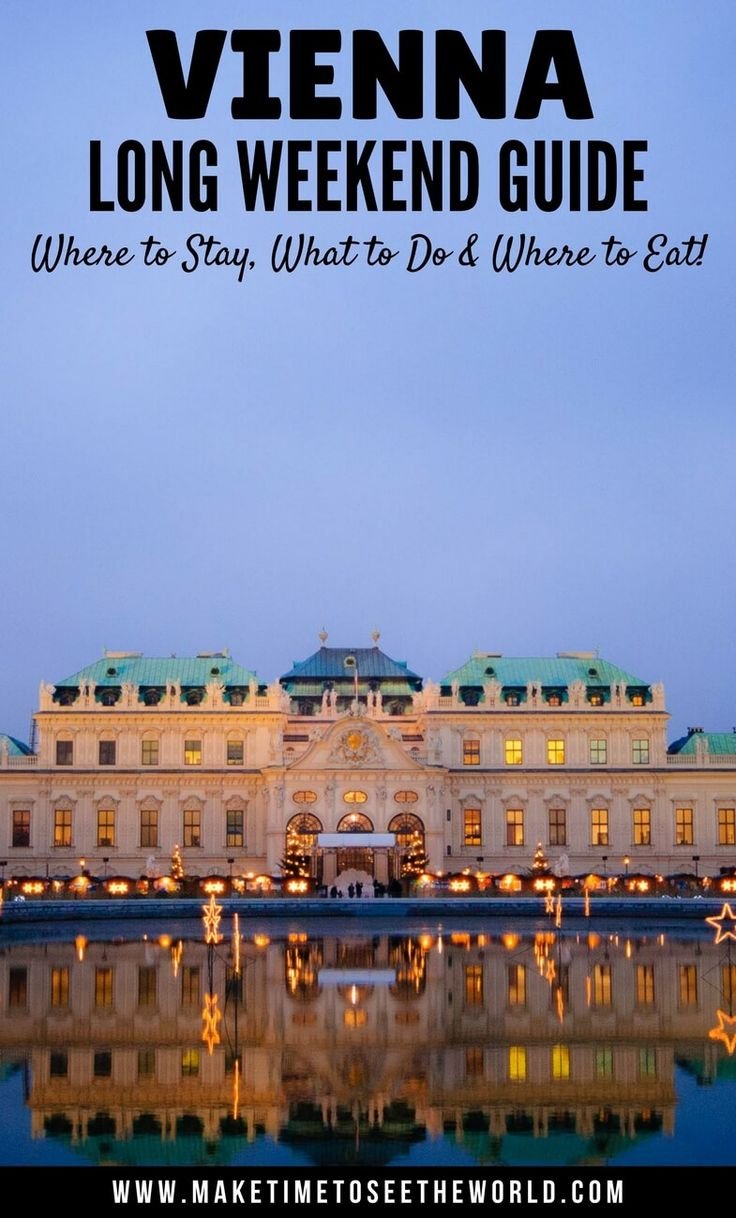 Only have 48 hours in Vienna, Austria? Then this guide is for you. Click for my Top 10 things to do in Vienna to ensure you don't miss out! We've picked out the best sites and wrapped it up in this handy little post so that you have all you need to have the Perfect Weekend in Vienna! ************************************************************************ Vienna Top Things To Do | Weekend in Vienna | 48 hours in Vienna | Vienna Highlights | Things To Do in Vienna | Long Weekend...