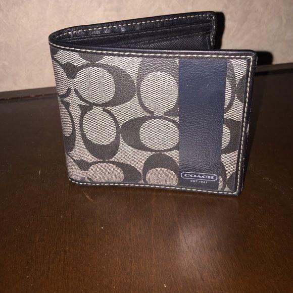 Coach men's wallet Men's wallet never used Coach Bags Wallets