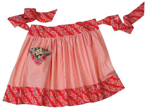 one yard apron tutorial and free pattern