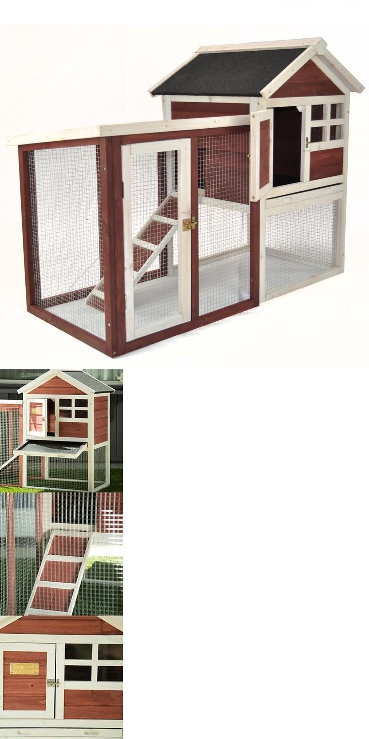 Backyard Poultry Supplies 177801: Chicken Coop Rabbit Hutch Cage Hen House Backyard Pen Poultry Outdoor Enclosure -> BUY IT NOW ONLY: $177.47 on eBay!
