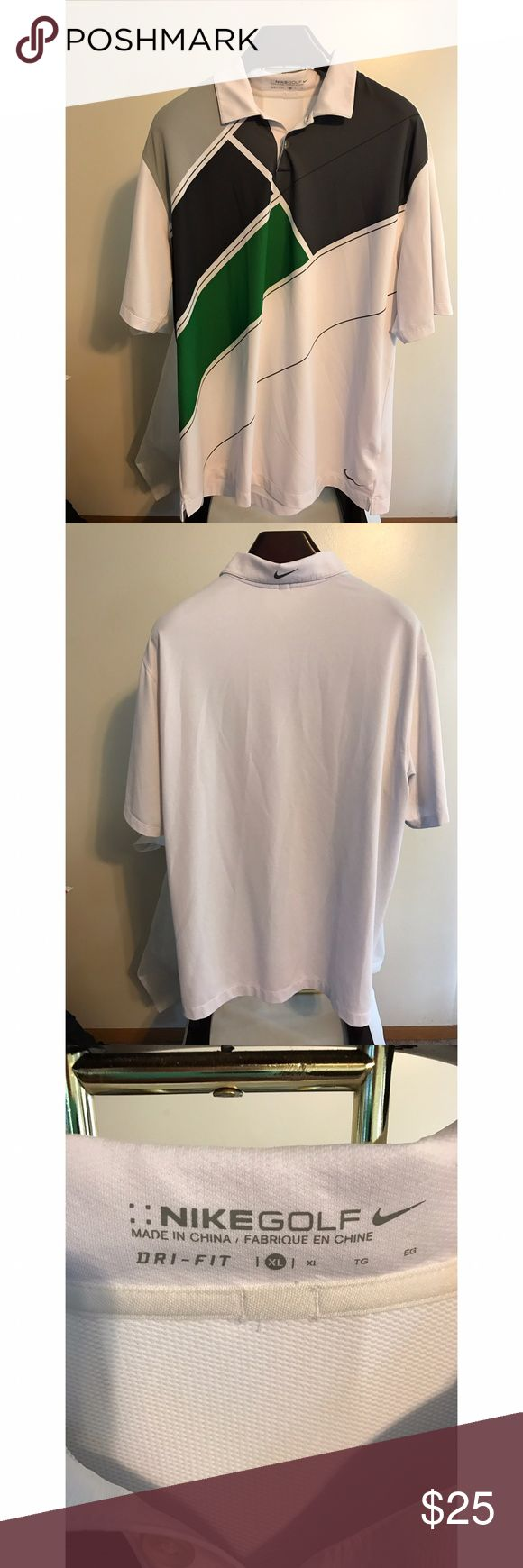 Nike Golf Men's Button Up XL Size XL Nike Shirts Polos