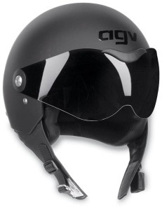 Black AGV Dragon Motorcycle Helmet Great clean slate helmet for airbrushing.