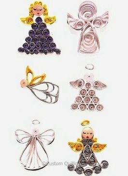 Nothing but Angels Quilling Kit www.customquilling.com