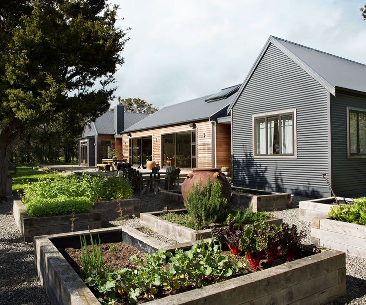 """They say good things come in threes and that's certainly the case for this family, whose rural property on the outskirts of Greytown was completed in three very different stages """"We didn't have an ultimate plan for this house,"""" says Jo Lysaght, a graphic designer and co-owner of online homeware store Caravan Homewares. """"But over …"""