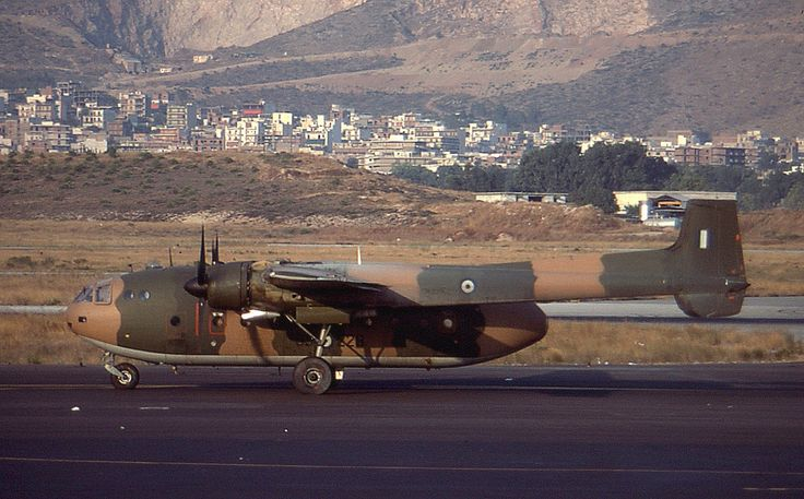 """""""Noratlas 53-228 on training mission at Ellinikon. Operated by the Hellenic Air Force and based at Athens Elefsis AFB from 1970 until the mid 80's""""."""