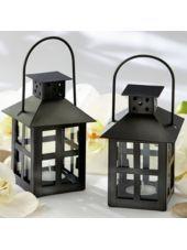 Black Mini-Lantern Wedding Favor-Party City