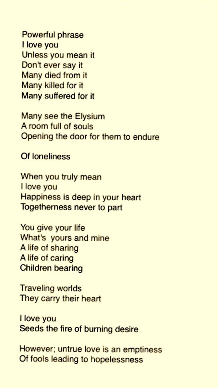 TRUELY - The Agony of Love - Love Hurts Poems