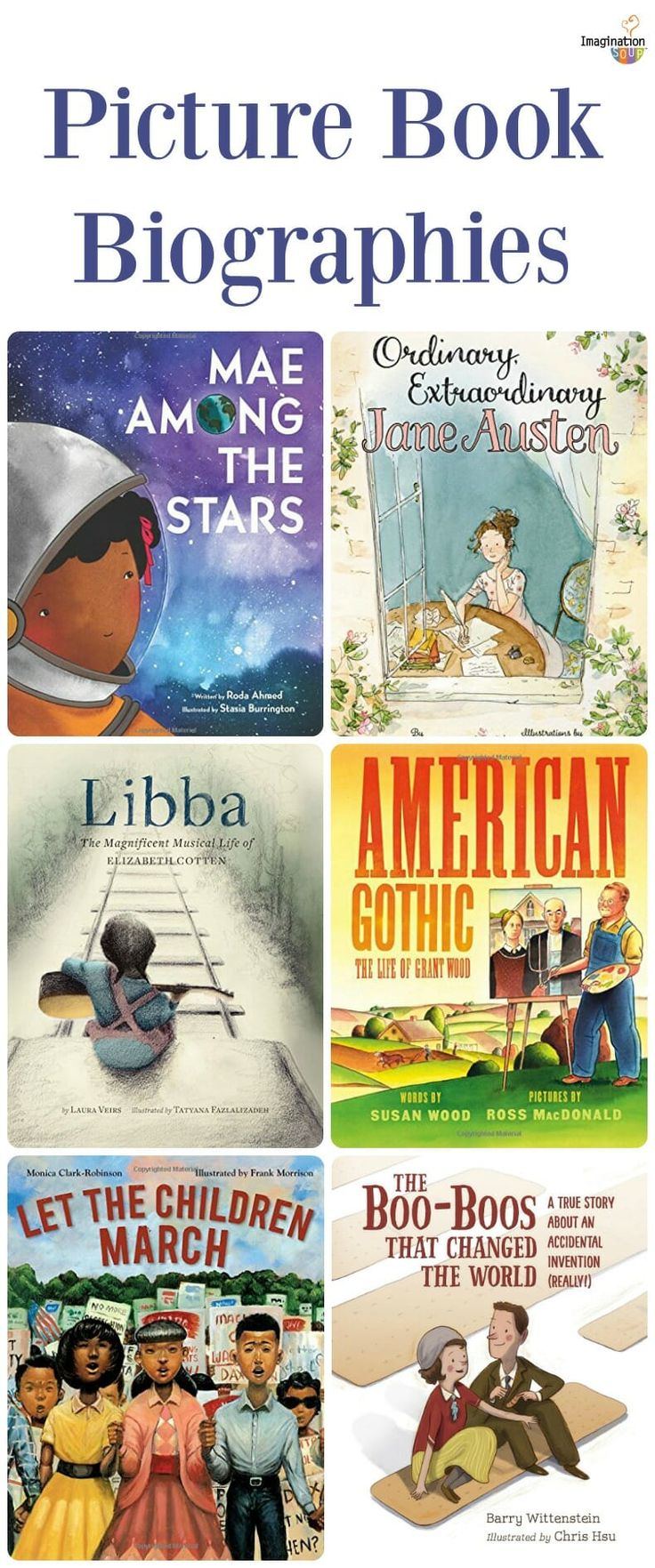 don't miss these 2018 picture book biographies