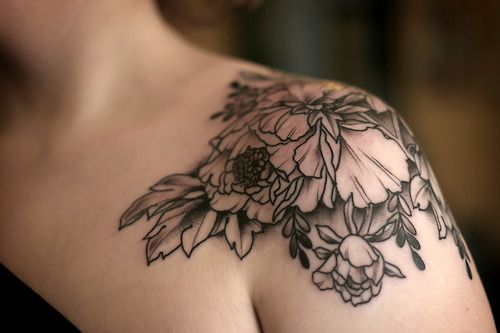 black women shoulder tattoo - Google Search